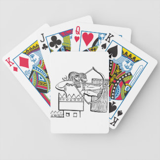 Greek Warrior Art Bicycle Playing Cards