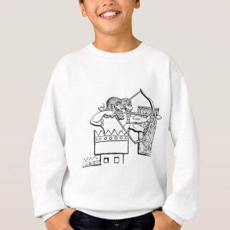 Greek Warrior Art Sweatshirt