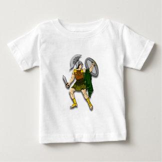 Greek Warrior Baby T-Shirt