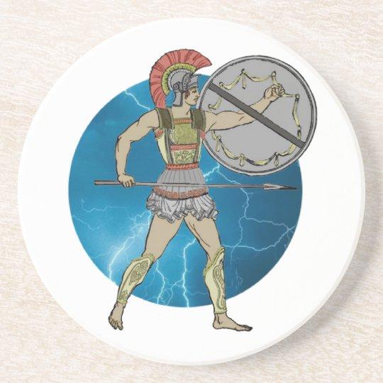 Greek Warrior Coaster