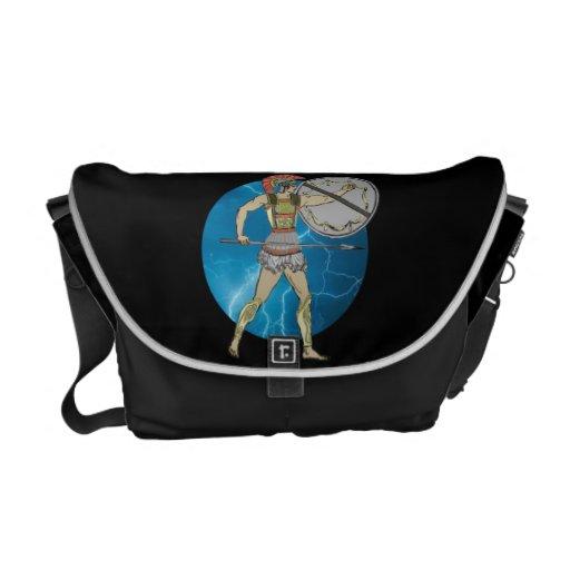 Greek Warrior Rickshaw Messenger Bag