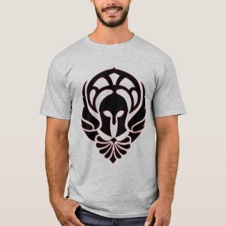 Greek Warrior T-shirt Black/Red