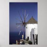 Greek Windmill Posters