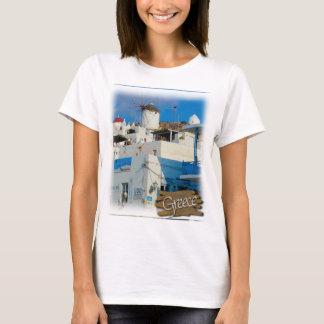 Greek Windmill T-Shirt