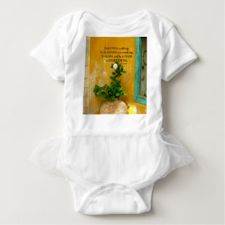 greekproverbInspirational Love quote Greek Proverb Baby Bodysuit