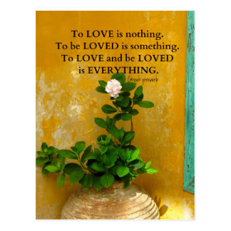 greekproverbInspirational Love quote Greek Proverb Postcard