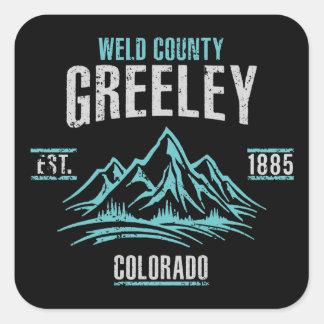Greeley Square Sticker