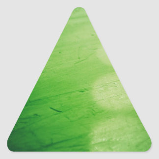 Green 000 triangle sticker