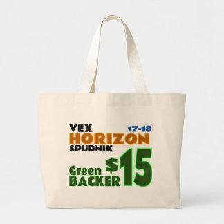 Green ($15) large tote bag