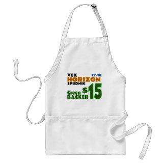Green ($15) standard apron