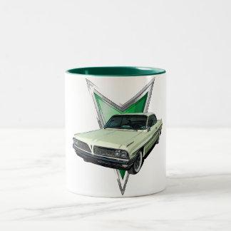 Green 1961 Ventura Bubble Top Two-Tone Coffee Mug