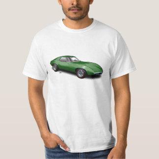 Green 1965 Banshee Prototype on White T-Shirt