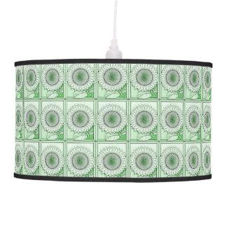 Green 2 Sunflower Pendant Lamp