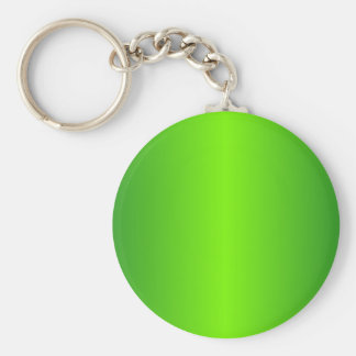 Green 4 - Lawn Green and Forest Green Gradient Keychain