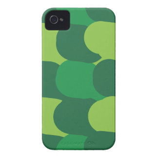 Green Abstract Design Pattern iPhone 4 Cover