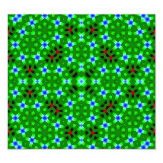 Green Abstract Pattern Photo Art