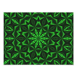 Green Abstract Photo Art