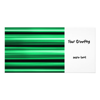 Green Abstract Photo Card Template