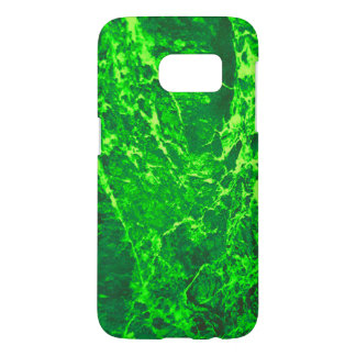 green abstract samsung galaxy s7 case