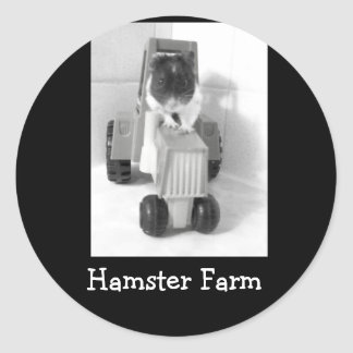 green acres noah, Hamster Farm Sticker