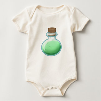 Green Alchemy Bottle Baby Bodysuit