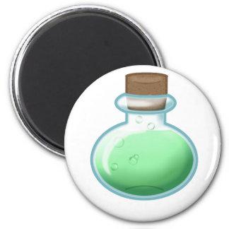 Green Alchemy Bottle Magnet