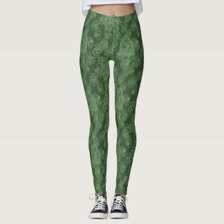Green Algae Leggings