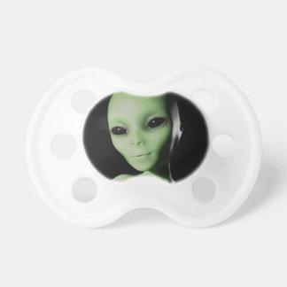 Green Alien Baby Pacifiers
