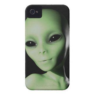 Green Alien iPhone 4 Case-Mate Cases