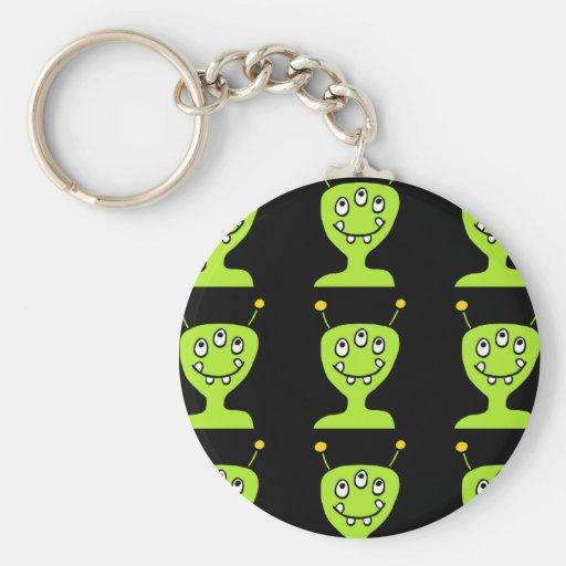 Green Alien Key Chains