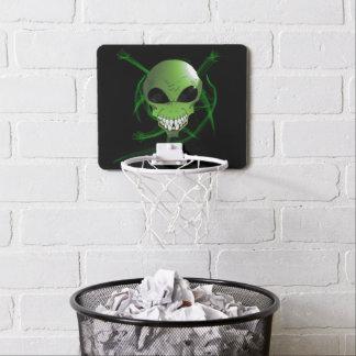 Green Alien Mini Basketball Goal Mini Basketball Hoop