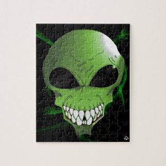 Green Alien puzzle