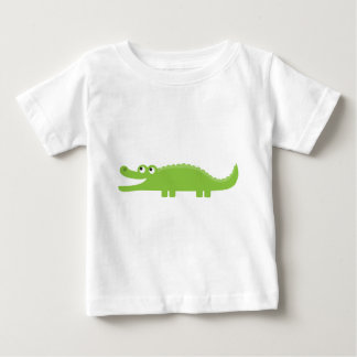 Green Alligator Baby T-Shirt