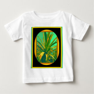 Green American Agave cacti Gifts by Sharles Baby T-Shirt