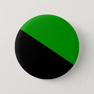 Green Anarchist flag button