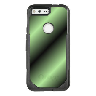 Green and Black Stripe OtterBox Commuter Google Pixel Case