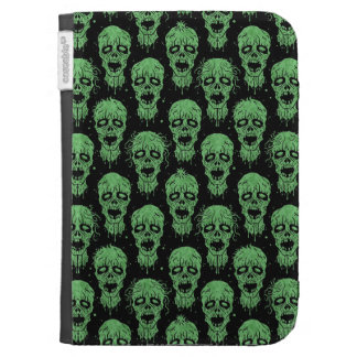 Green and Black Zombie Apocalypse Pattern Cases For The Kindle