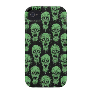 Green and Black Zombie Apocalypse Pattern iPhone 4/4S Case