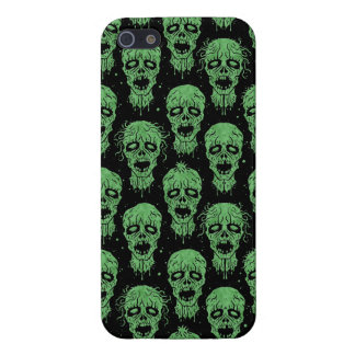 Green and Black Zombie Apocalypse Pattern iPhone 5 Case