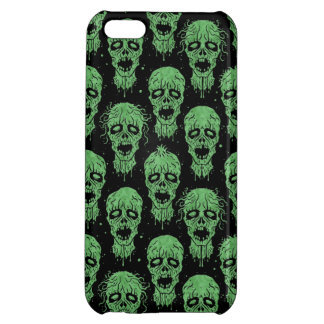 Green and Black Zombie Apocalypse Pattern Cover For iPhone 5C