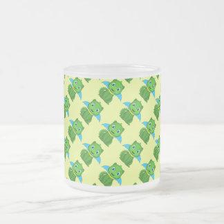Green And Blue Chibi Dragon Coffee Mug
