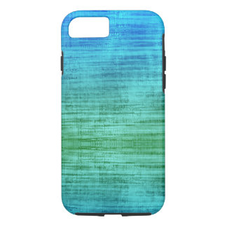 Green And Blue Gradient Texture Pattern iPhone 8/7 Case