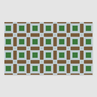 Green and Brown Squares