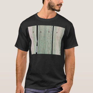 Green and Brown Wood Plank Walkway T-Shirt