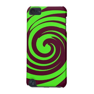 Green and dark brown swirl iPod touch (5th generation) cover