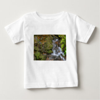 Green and Mossy Water Flow Baby T-Shirt