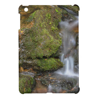 Green and Mossy Water Flow iPad Mini Cover