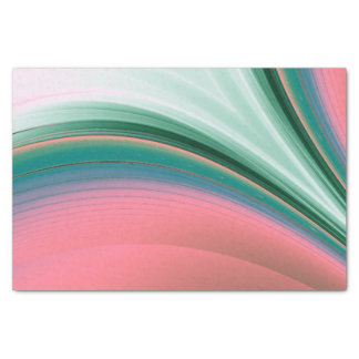 """Green and Pink Flash 10"""" X 15"""" Tissue Paper"""