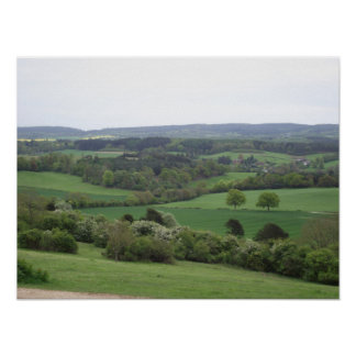 Green and Pleasant Land Print