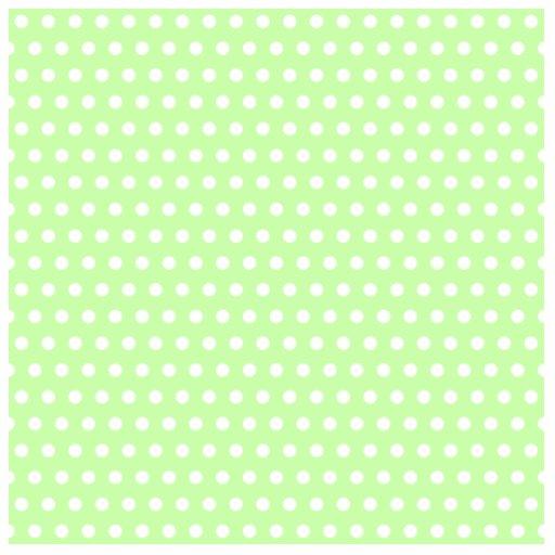 Green and White Polka Dot Pattern. Spotty. Photo Cutouts